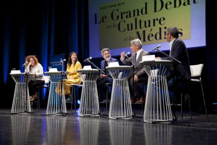 Grand débat sur la culture et les médias - c. David Ospina